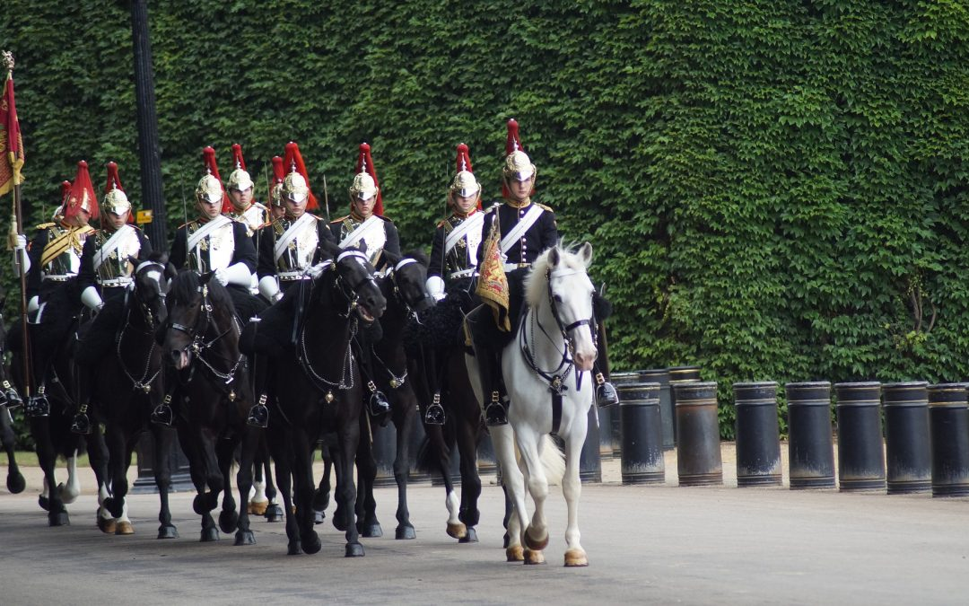 Changing of the guards Horse Guard Parade