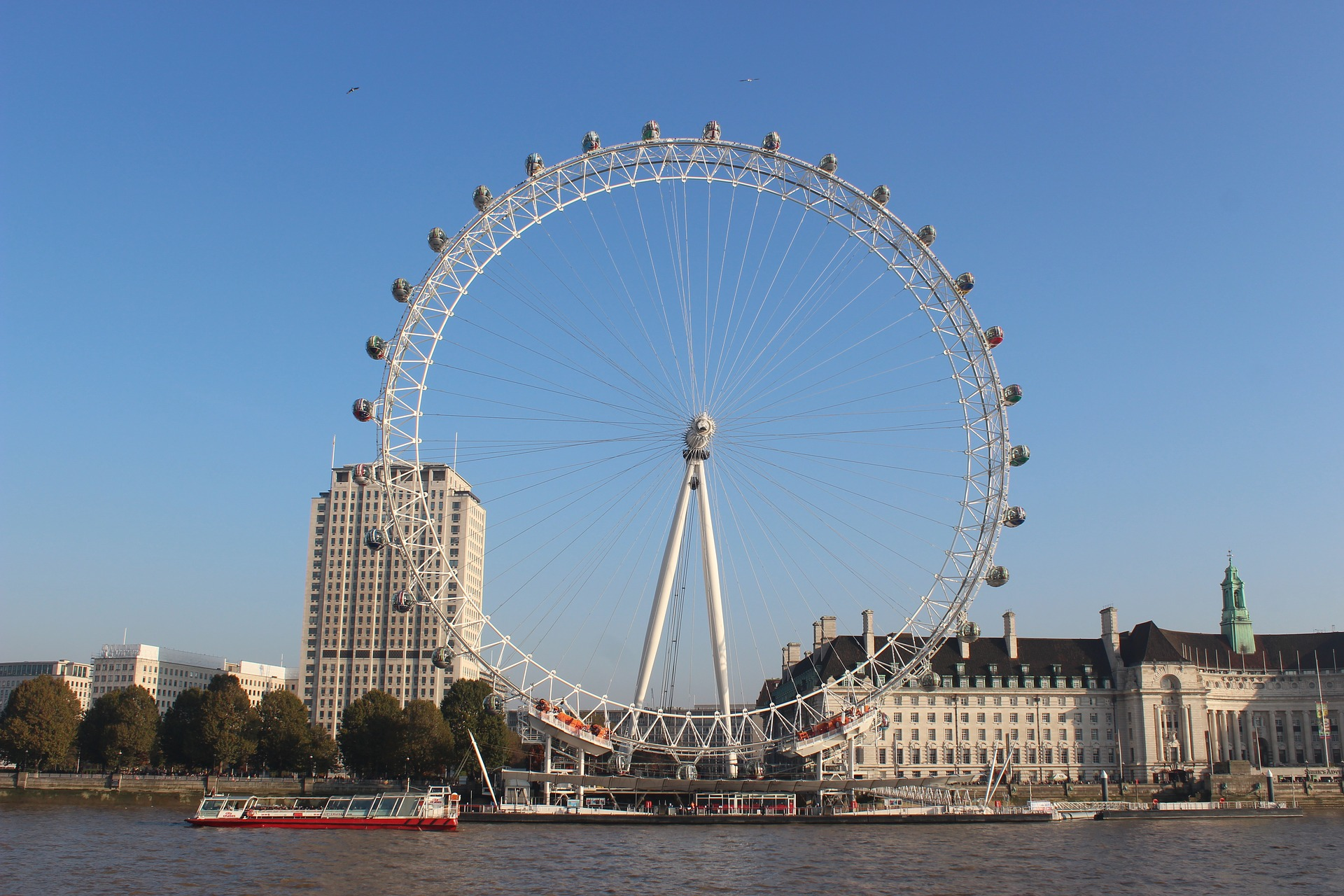 5 Reasons why you should visit the London Eye