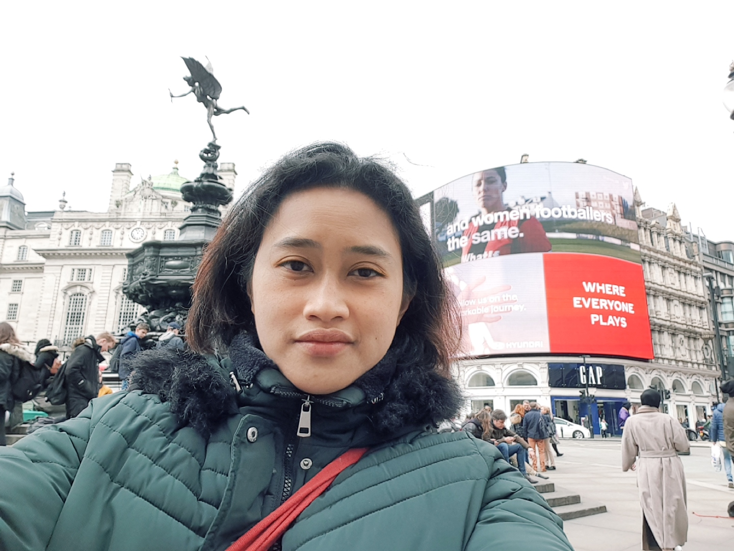 Piccadilly Circus and Statue of Eros