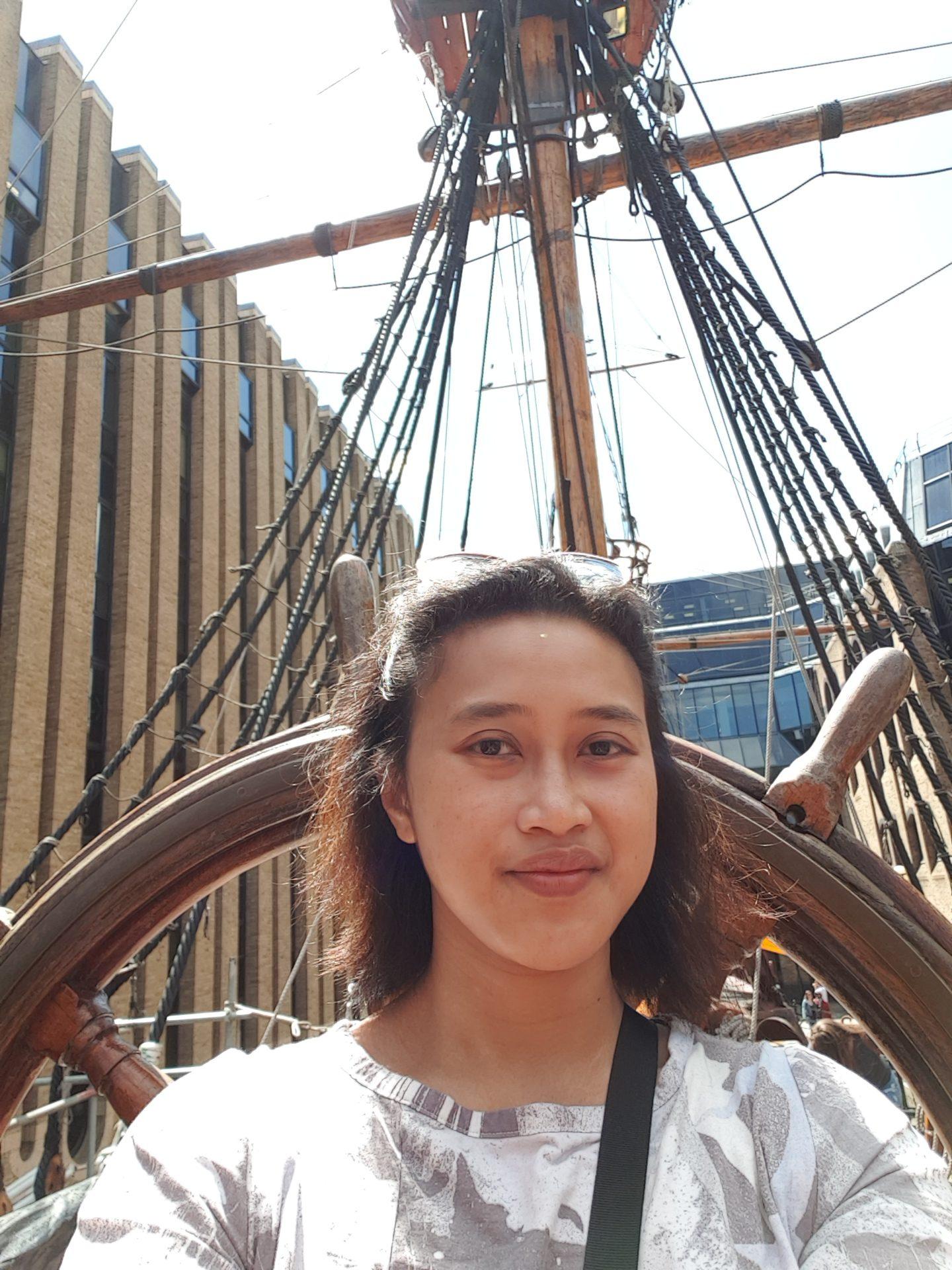 The Golden Hinde Ship