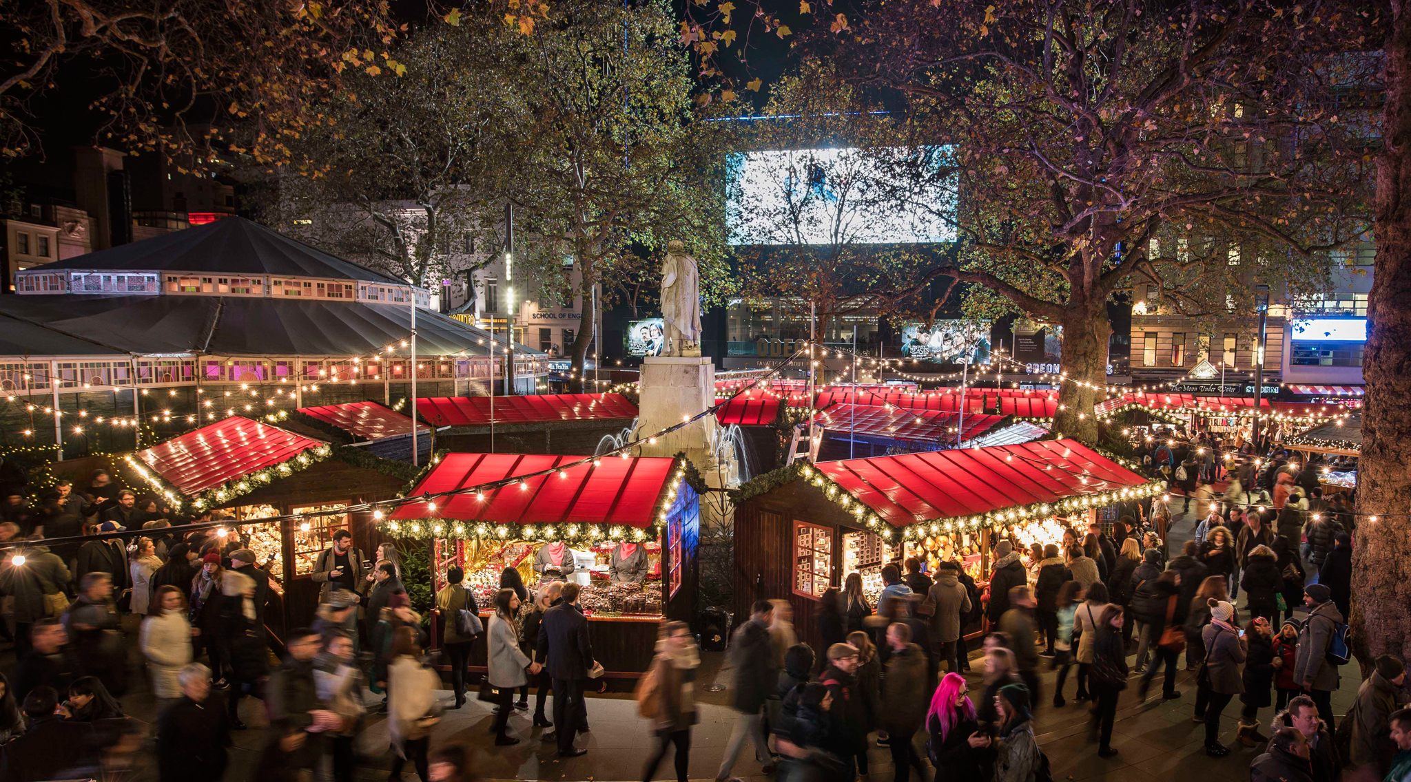 Christmas Market Leicester Square