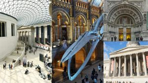 Various museums in London