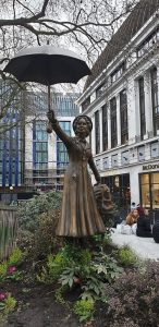 Singing in the Rain Statue, Leicester Square