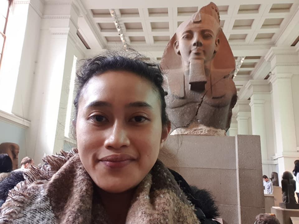 Bust of Ramessess II, British Museum