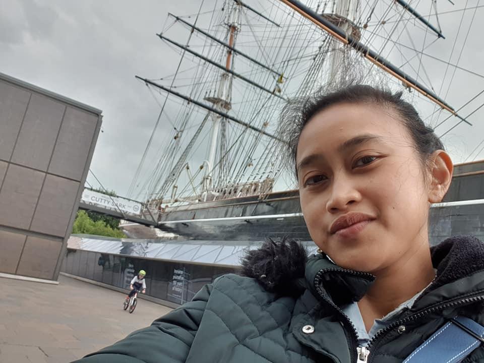 Cutty Sark Ship, Greenwich, London