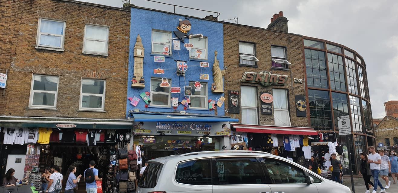 Camden Town punk shop