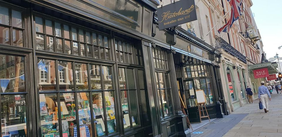 Hatchard's Bookstore in Piccadilly