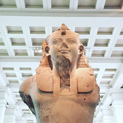Bust of King Ramassess II