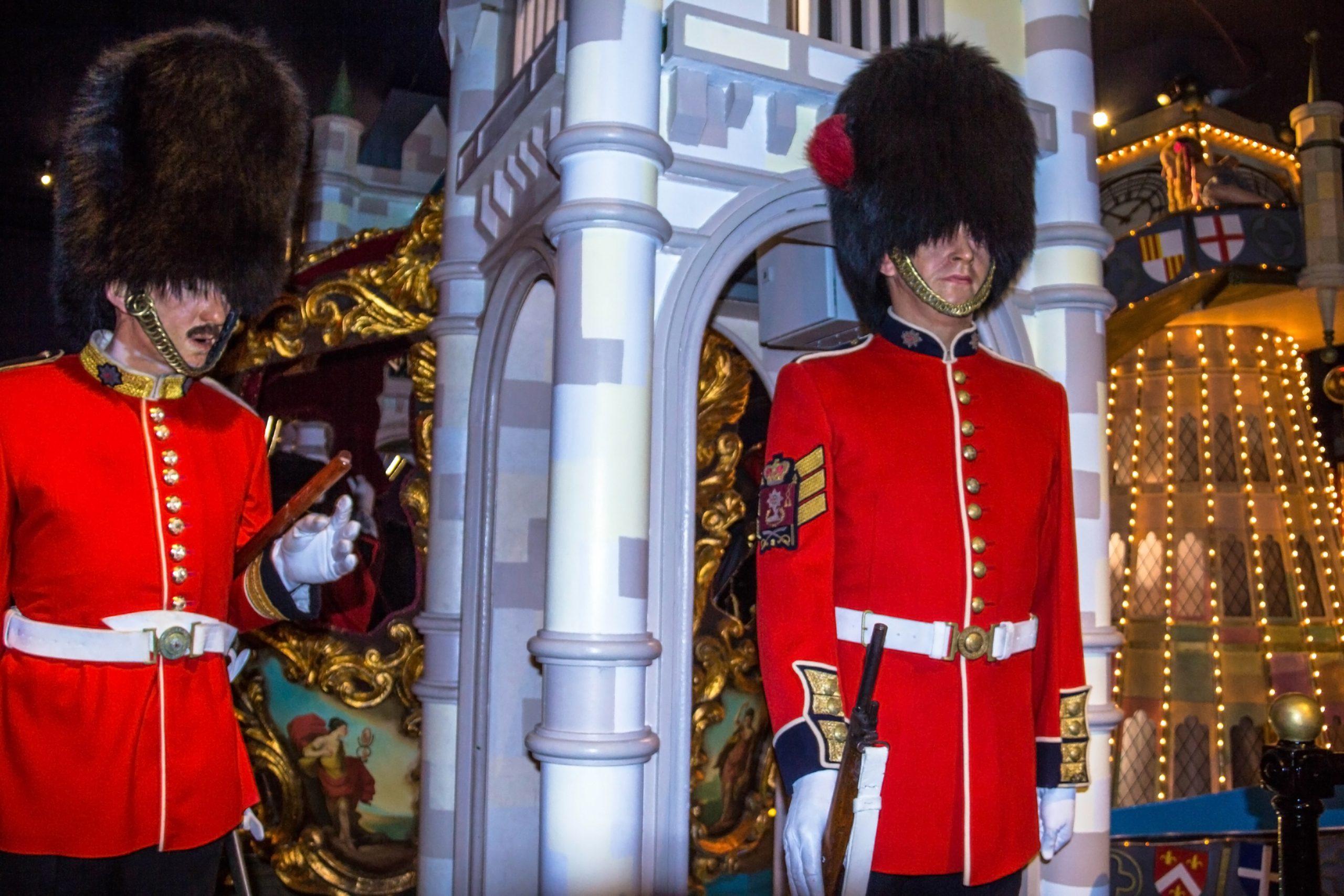 British Guards in Madame Tussauds