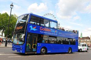 Golden Tours Bus London