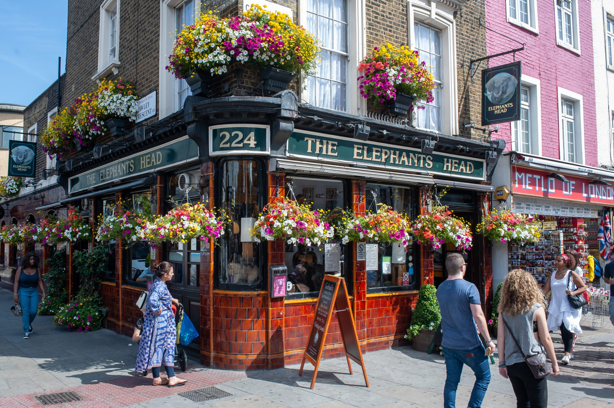 The Elephant's Head Pub, Camden Town