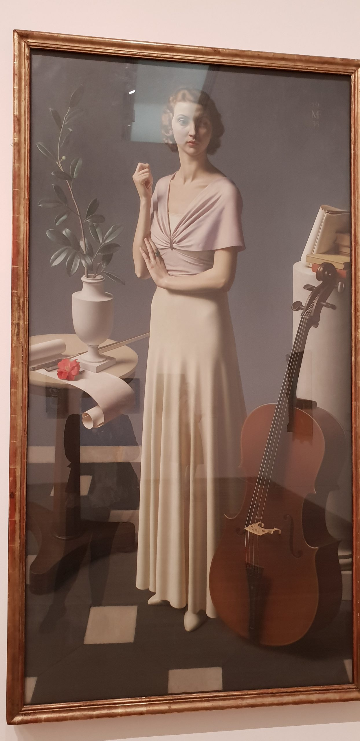 A portrait of a lady in 1936