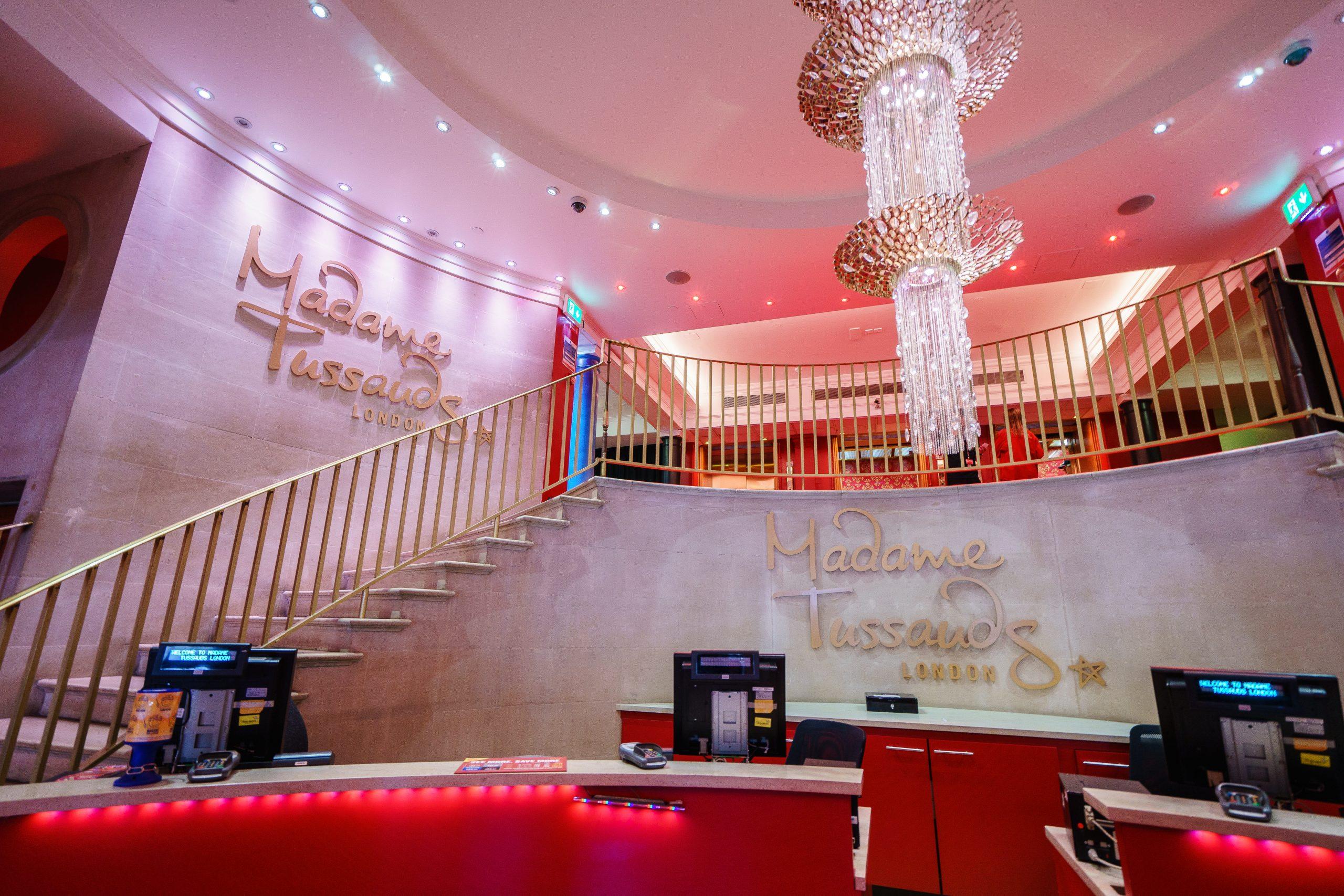 Madame Tussauds London entrance