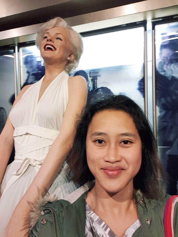 Marilyn Monroe wax work