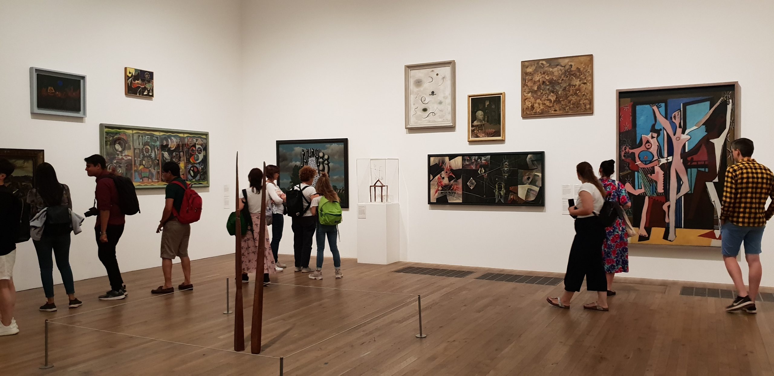 Gallery in Tate Modern, Southbank, London