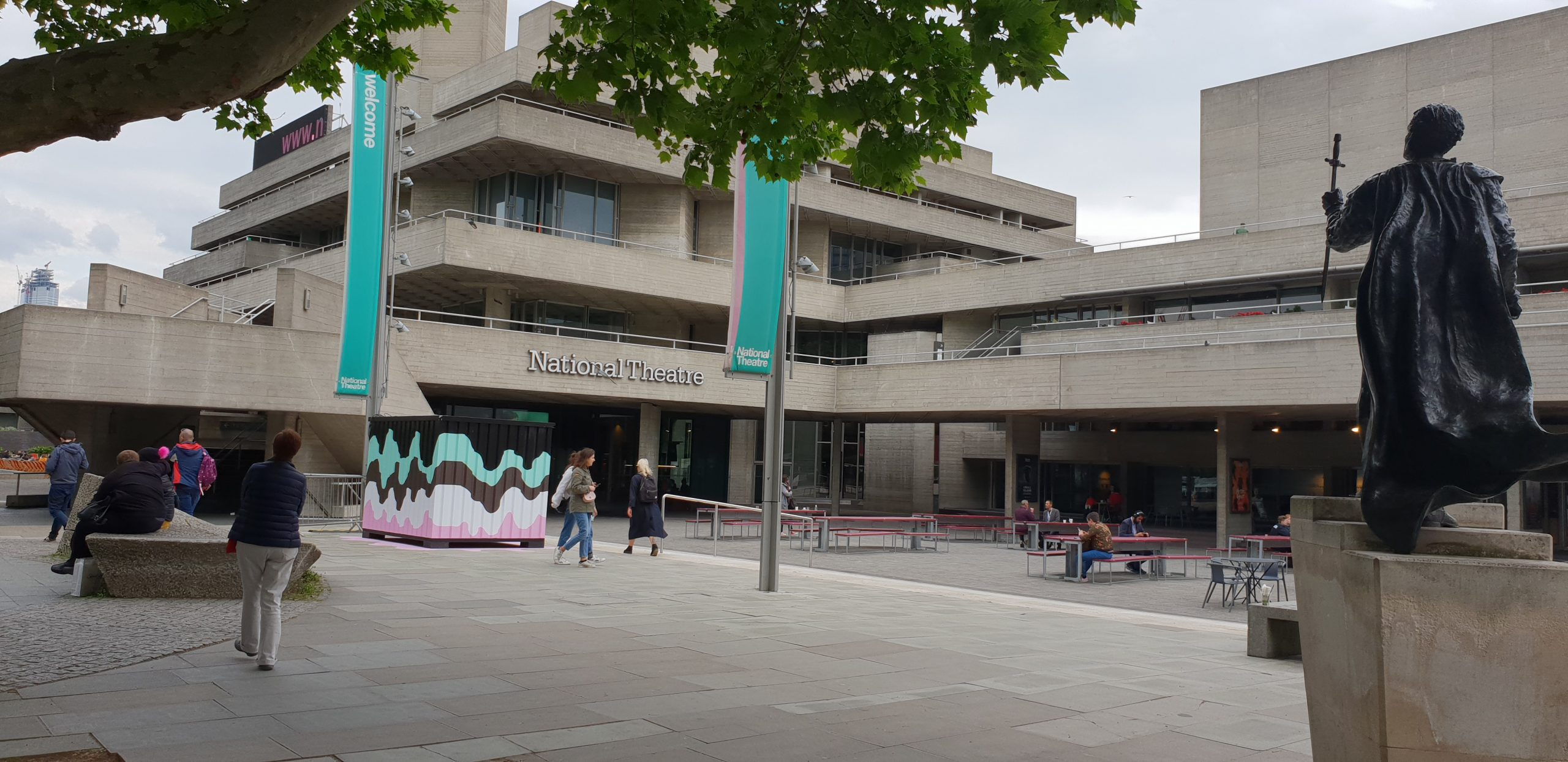 The National Theatre, Southbank, London