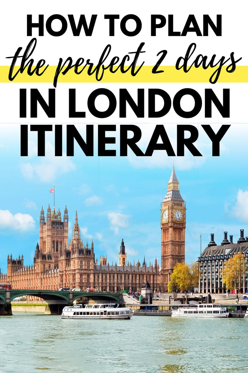 The Perfect 2 Days in London Itinerary