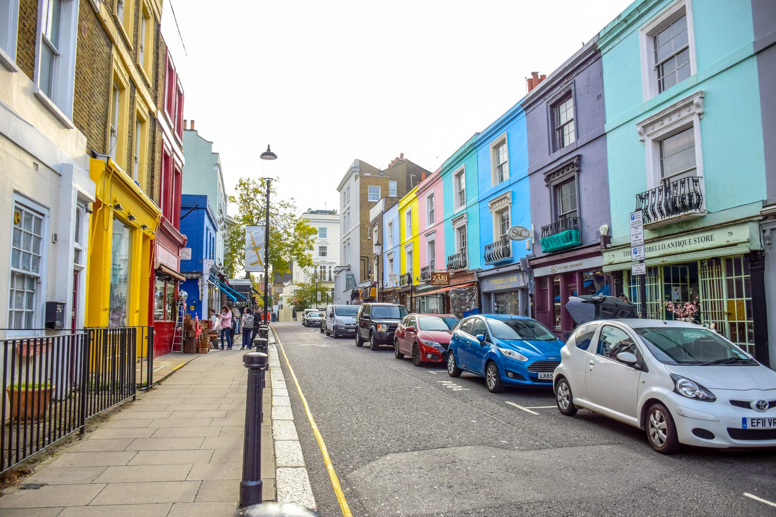 Portobello Road Market London