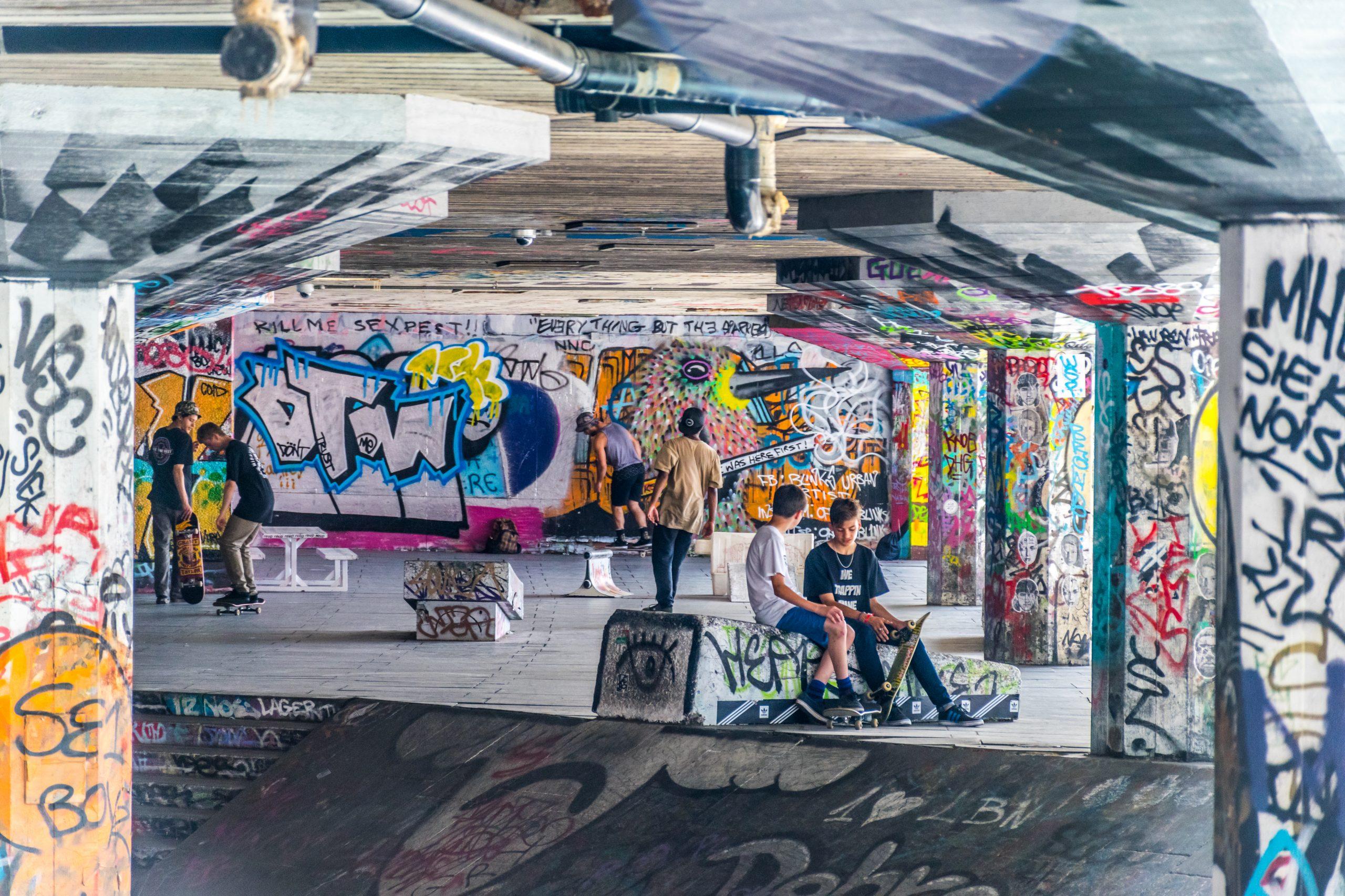 Southbank Skate Park London