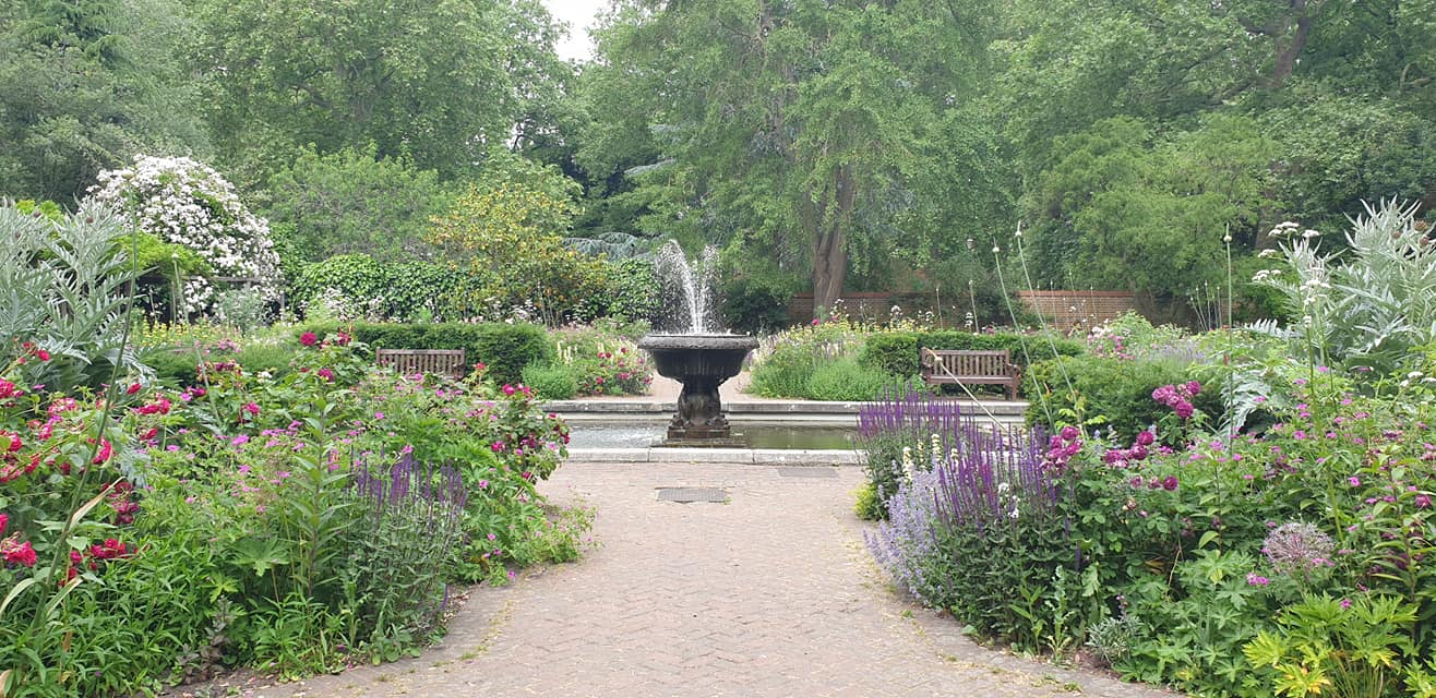 Old English Garden Battersea Park