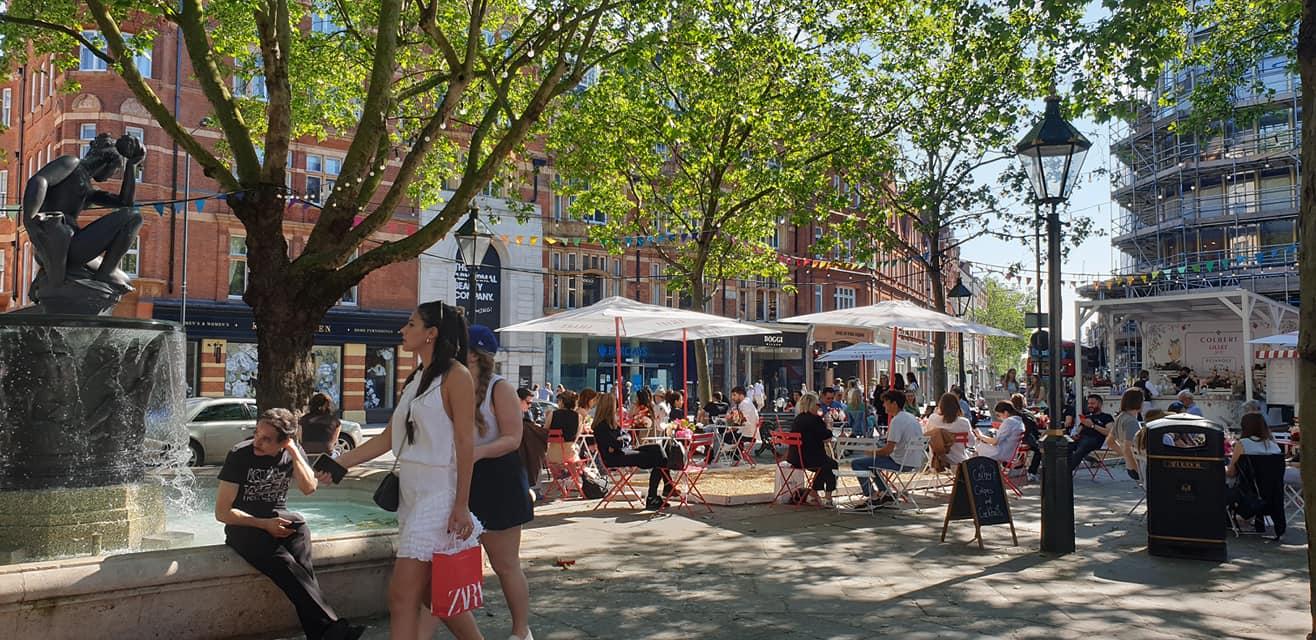 Sloane Square, Chelsea