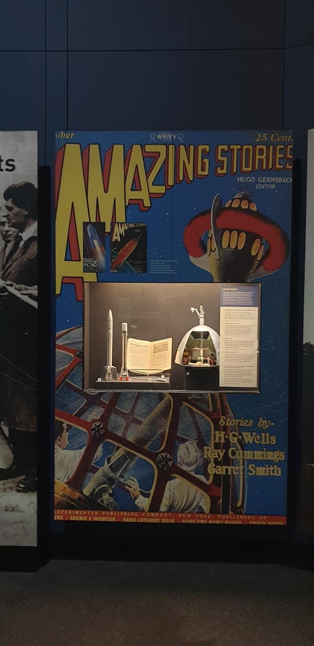 Amazing Stories billboard, Science Museum