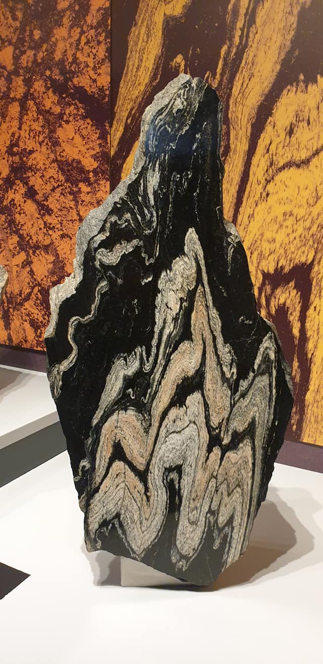 Volcanic rock, the Natural History Museum
