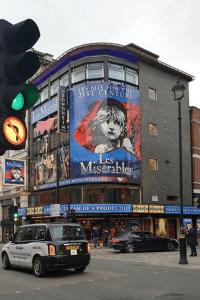 Les Misérables poster, Shaftesbury Avenue