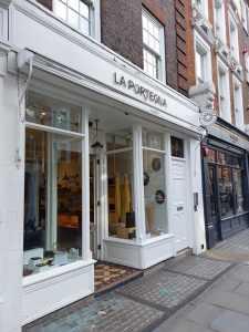 La Portegna store in Marylebone, London