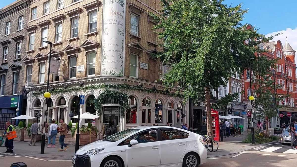 Marylebone High Street, London